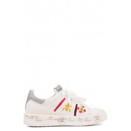 Sneaker fleurs multicolores-BELLE VAR3008-prémiata-femme-www.algorithmelaloggia.com