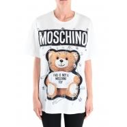 T-shirt teddy épingles over size