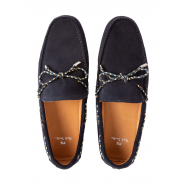 Moccassins_carshoes_suède_navy_Springfield_Paul Smith_homme_chaussure_M2S SFD06_shop_online_boutique_strasbourg_france