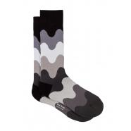 Chaussettes_vagues_gris_noir_M1A 380A FF465 79_Paul Smith_homme_mode_shop_online_boutique_strasbourg_france_socks