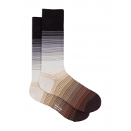 Chaussettes_rayées_sable_brun_choco_M1A 380A FF518 79_Paul Smith_homme_socks_online_boutique_strasbourg_france
