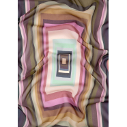 Foulard_rectangles_vert_rose_W1A 779F FS03 20_Paul Smith_femme_accessoire_mode_shop_online_boutique_strasbourg_france
