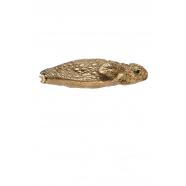 Porte-monnaie Grenouille métallisé Bronze
