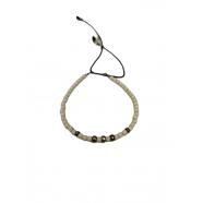 Bracelet_magnésite_facettes_ivoire _rondelles_argent_catherine-michiels-fw1810-bijoux-jewel-homme-femme-man-woman-e-shop