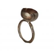 Bague_big_nénuphar_argent_intérieur_or_rose_yonka 2_Rosamaria_femme_bijoux_ring_shop_online_boutique_strasbourg_france