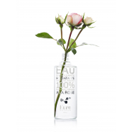 Eau dissolvante hydratante à la rose
