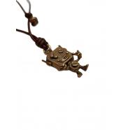 Charm Robo Bro bronze diamants_RB1BRD_catherine michiels_strasbourg_france_boutique_online