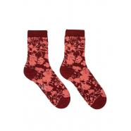 Chaussettes_floral_bordeau_rose_W1A-086D-GF648-28_Paul Smith_femme_accessoire_mode_shop_online_boutique_strasbourg_france