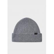 Bonnet_uni_cachemire_gris_M1A-383E-AV237-76_Paul Smith_homme_accessoire_mode_shop_online_boutique_strasbourg_france