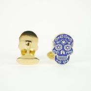 paul-smith_boutons-de-manchette_anxa-cuff_edead_men_skull_mexique_bleu_or_homme_accéssoires_france_strasbourg