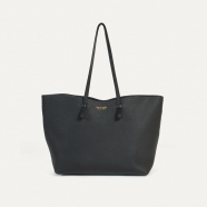 Cabas shopper moyen cuir grainé Joy