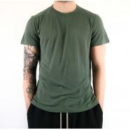 T-shirt viscose manches courtes sauge