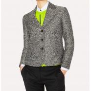 Veste tweed noir & blanc