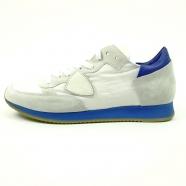 Baskets Tropez semelle fluo & arrière bleu