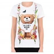 T-shirt teddy balançoire