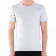 T-shirt Moschino embossé manches courtes