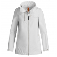 Trench imperméable blanc Inasa