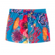 Short de bain Hawaii poissons