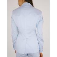 dondup-femme-Veste coton ciel tailleur-women-boutique-strasbourg-e.shop-www.algorithmelaloggia.comp