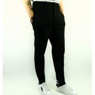 Pantalon bas arrière 2 bandes blanches