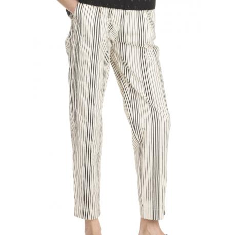 Pantalon multi rayures Andres-attic and barn-femme-women-e.shop-strasbourg-algorithmelaloggia.com