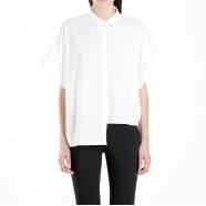 Chemise coton oversize manches courtes-isabel benenato-femme-tunique-WW42S18-www.algorithmelaloggia.com