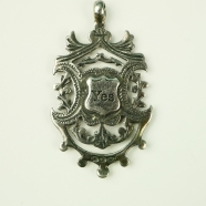 Pendentif argent YES and No