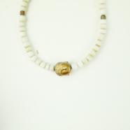 Bracelet pierres bouddha bronze