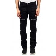 Pantalon poches zippées noir